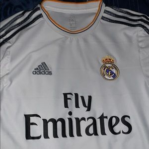 Real Madrid 13/14 Home jersey